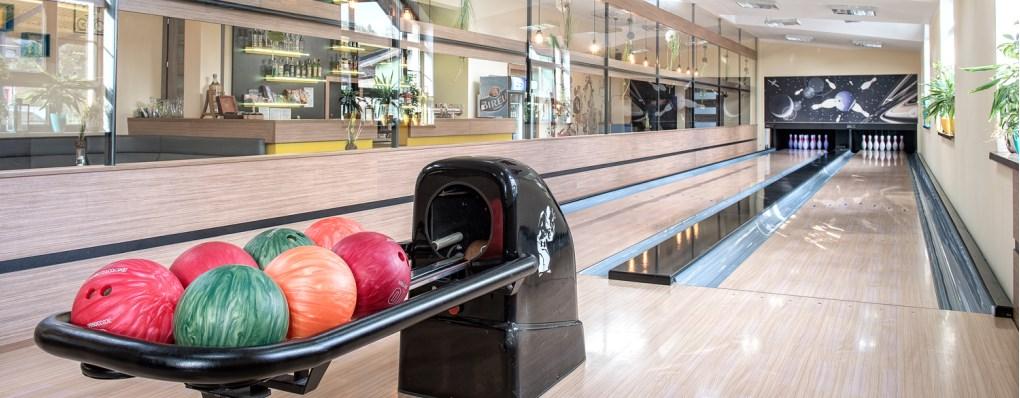Zasúťažte si a zažite super zábavu na dvoch profesionálnych bowlingových dráhach